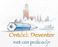 Ontdek Deventer met een potlood_lr